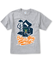Plan B Boys Panther Grey Tee Shirt