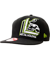 Metal Mulisha Lean Black New Era Snapback Hat