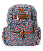 Roxy Ship Out Floral Print Backpack