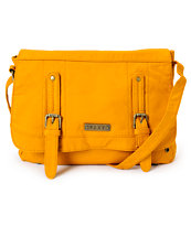 Roxy Still Free Yellow Cross Body Purse