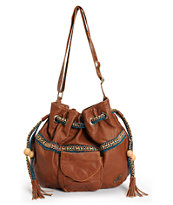 Roxy Good Life Brown Shoulder Bag
