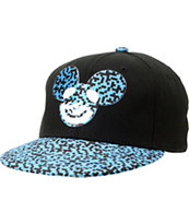 Neff x Deadmau5 Neffmau5 Icon Spreckle Black Snapback Hat