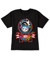 Neff Boys Warrior Kenni Black Tee Shirt
