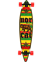 Nor Cal Rude Bear Pintail 44 Longboard Complete