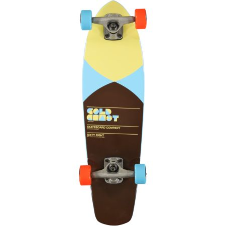 Gold Coast Pier Blue 7.5 Mini Cruiser Complete Skateboard