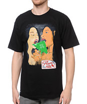 LRG Flavor Of The Month Black Tee Shirt