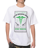 LRG Overly Medicated White Tee Shirt