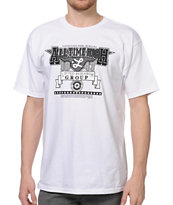LRG All Time High White Tee Shirt