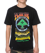 LRG Greener Tomorrow Black Tee Shirt