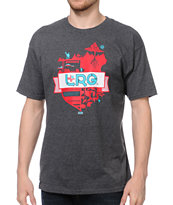 LRG Journey Thru Life Charcoal Tee Shirt