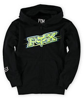 Fox Boys Chemistry Black Zip Up Hoodie