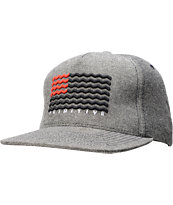 Primitive Crooked Reverse Denim Snapback Hat