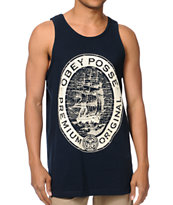 Obey Premium Original Navy Tank Top