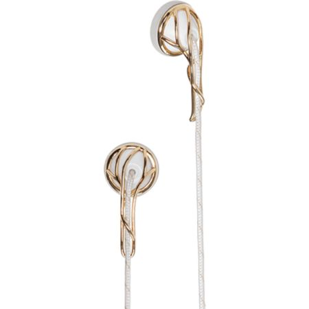 Frends Ella Gold & White Earbuds