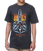 Obey Serpents Graphite Tee Shirt