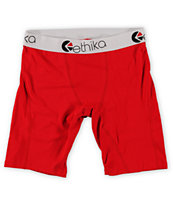 Ethika The Staple Red Boxer Briefs