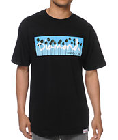 Diamond Supply OG Palms Black Tee Shirt