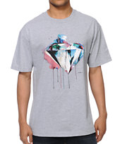 Diamond Supply I Art You Heather Grey Tee Shirt