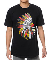 Popular Demand Chief Pro Black Tee Shirt