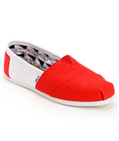 Toms Campus Classics Nebraska Slip On Shoe