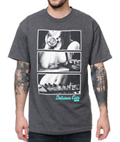 Acrylick Delicious Cuts Grey Tee Shirt