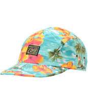 Obey Maui Blue 5 Panel Hat
