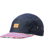 Obey Monterrico Denim 5 Panel Hat