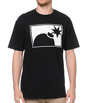 The Hundreds Forever Half Bomb Black Tee Shirt