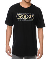 Crooks and Castles Royal Black Tee Shirt