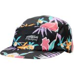 Stussy Girls Black Hawaiian Print 5 Panel Hat