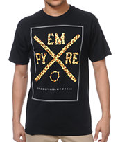 Empyre Hunted Empyre Black Tee Shirt