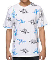 A-Lab Dino Party White Tee Shirt