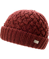 Coal Girls Payton Burgandy Fold Beanie