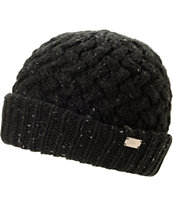 Coal Girls Payton Black Fold Beanie