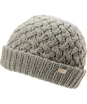 Coal Girls Payton Grey Fold Beanie