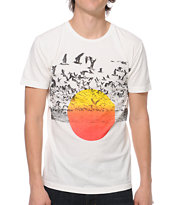 Freedom Artists Sunflock White Tee Shirt