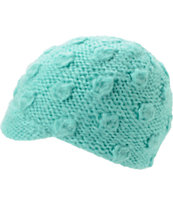 Coal Girls Frida Mint Visor Beanie