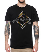 Roark Artifacts Of Adventure Black Tee Shirt