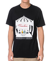 Primitive Cabana Club Black Tee Shirt