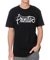 Primitive Skywriter Black Tee Shirt