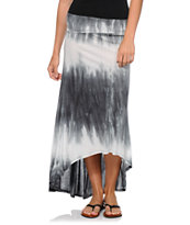 Billabong Skirt Away Tie Dye Maxi Skirt