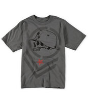 Metal Mulisha Boys Bars Charcoal Tee Shirt