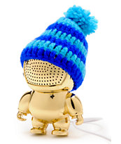 Audiobot Gold Beanie Bot Powered Speaker