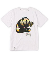 LRG Boys Unnatural White Tee Shirt