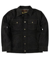LRG Boys CC Black Raw Denim Jacket