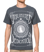 The Gro Project Unlimited Dedication Charcoal Tee Shirt
