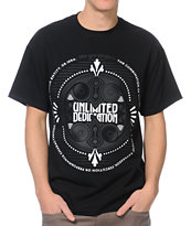 The Gro Project Heavy Rotation Black Tee Shirt