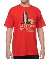 Crooks and Castles Blood Roses Red Tee Shirt