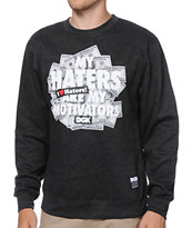 DGK Motivators Grey Crew Neck Sweatshirt