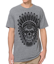 Secret Artist Chief Grey Tee Shirt